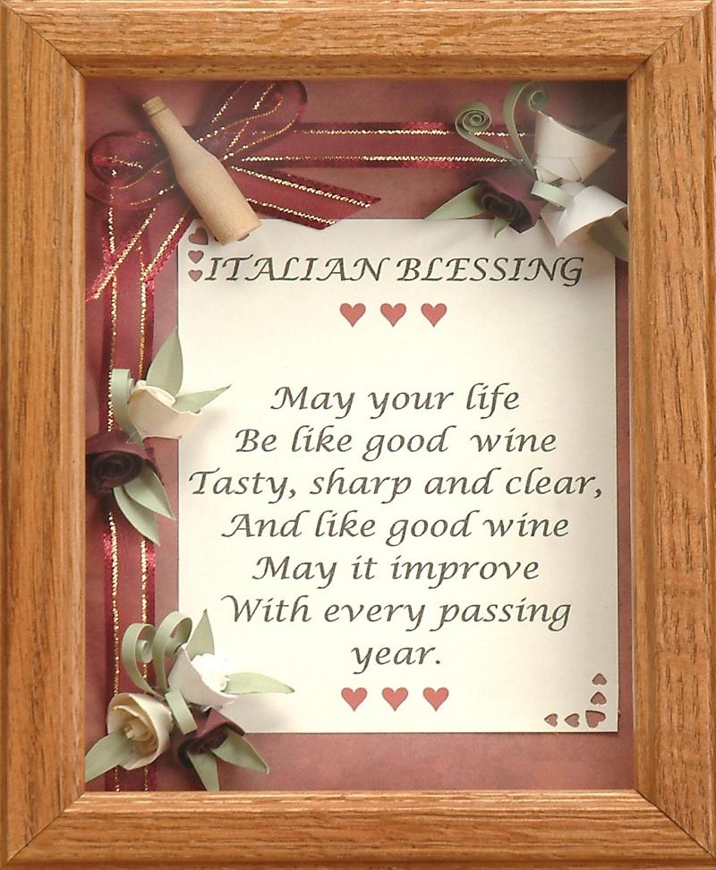 Italian Wedding Blessing Quotes QuotesGram